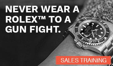 Never Wear a Rolex™ to a Gun Fight.