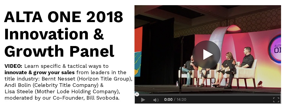 [VIDEO] ALTA One Innovation & Growth Panel