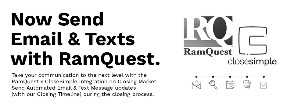 The RamQuest & CloseSimple Integration is Here!